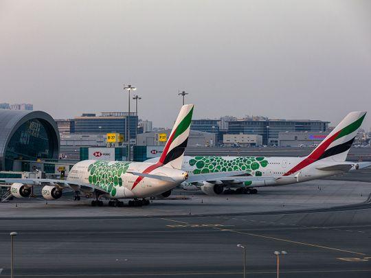 Stock Emirates aircraft