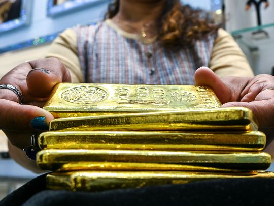 Stock Gold Dubai jewellery
