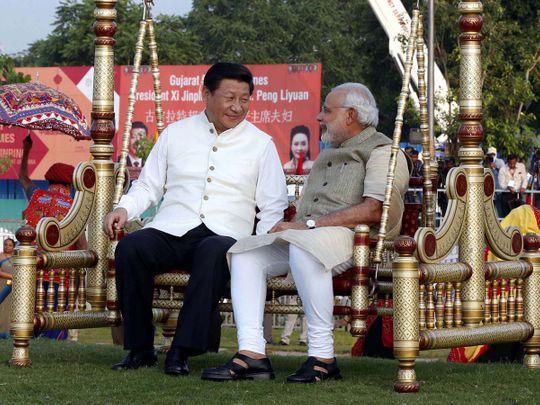 Stock Modi Jinping India