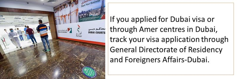 Visa applied in Dubai
