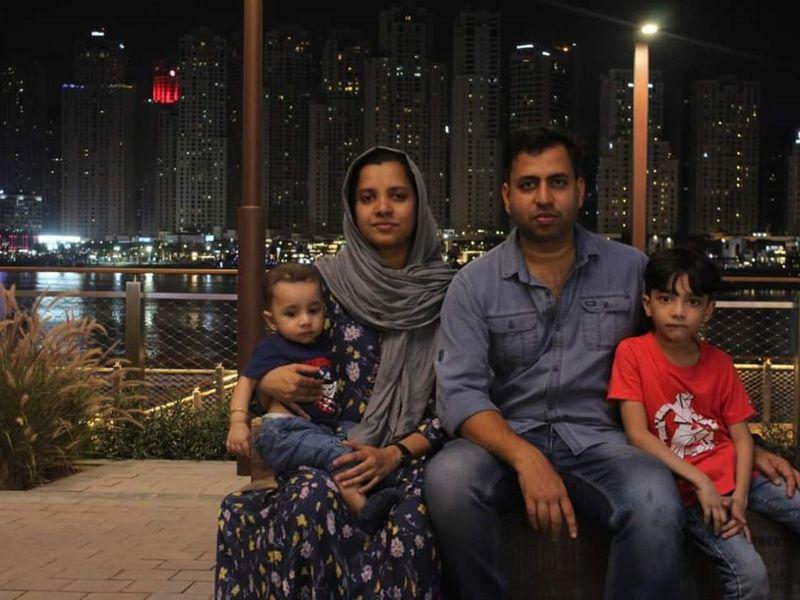 NAT Fasal Pratheeksha with his family-1597073449695
