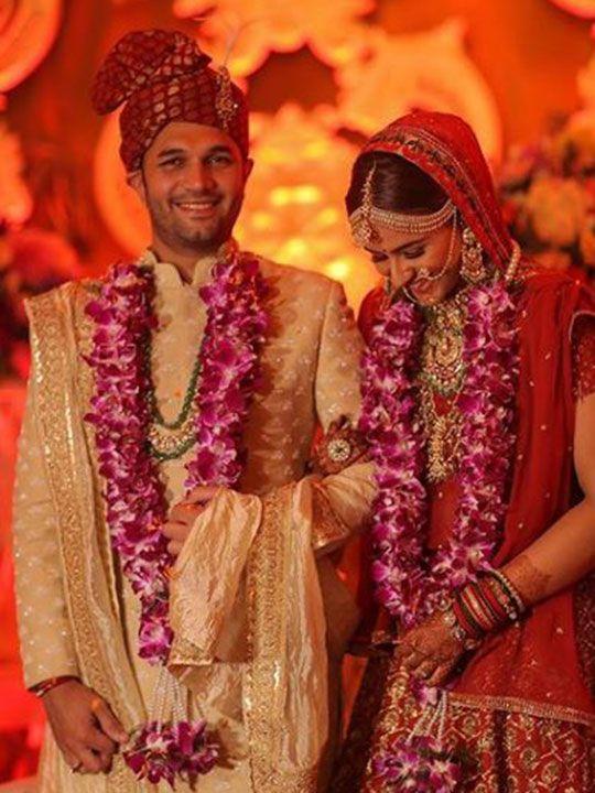Prachi wedding