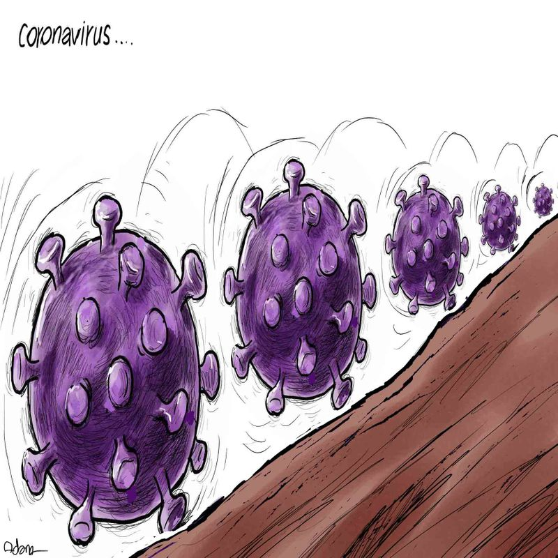 3 Coronavirus Cartoon August 11