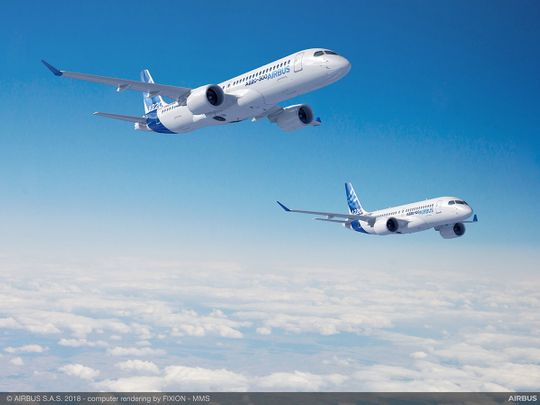 Airbus A220-100 and A220-300