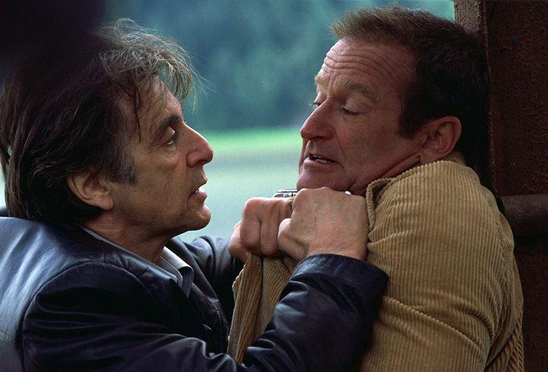 Al Pacino and Robin Williams in Insomnia (2002)