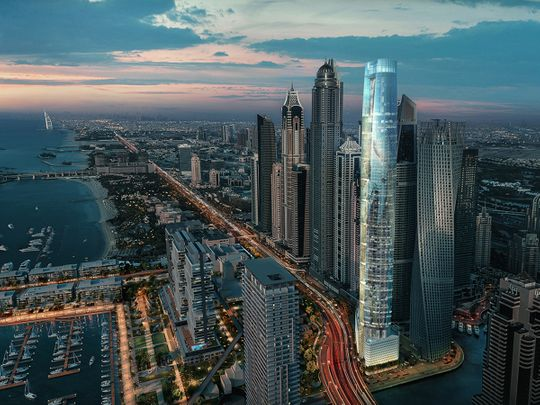 Ciel, world's tallest hotel to be