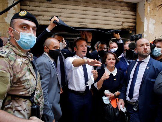 Macron Lebanon
