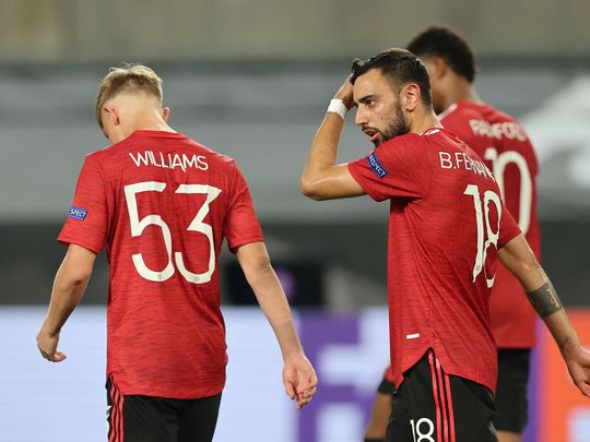 Manchester United survive Copenhagen scare