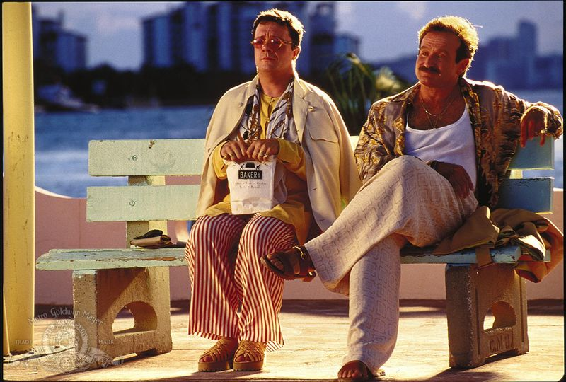 Robin Williams and Nathan Lane in The Birdcage (1996)1
