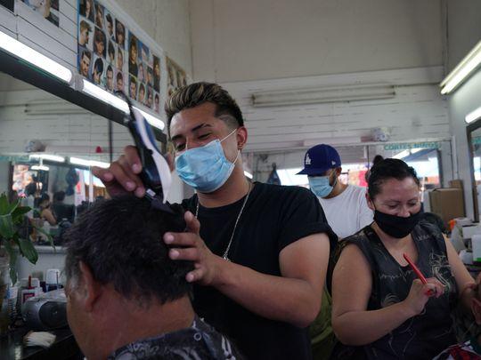 haircut covid corona