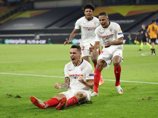 Europa League: Sevilla down Wolves, Shakhtar thump Basel
