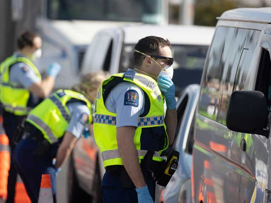 Auckland police officers motorists New Zealand