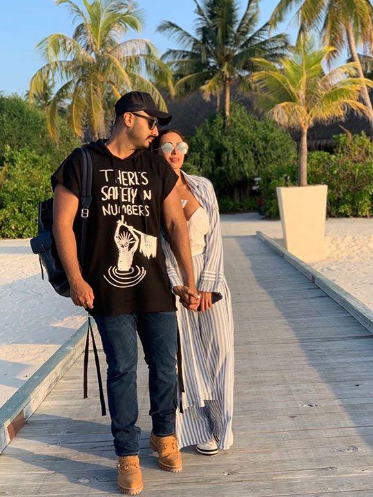 Malaika and Arjun Kapoor