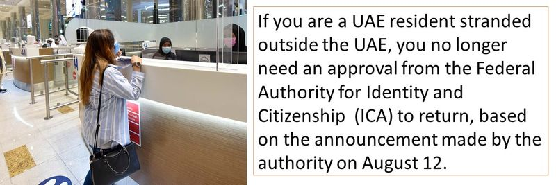 No ICA approval needed: Follow these steps to return to the UAE