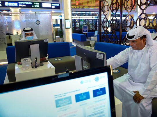 Stock DFM Dubai market