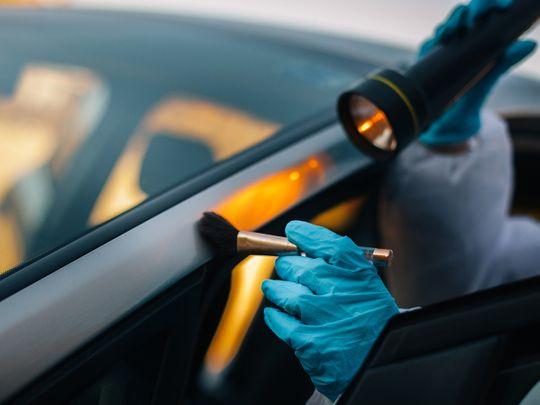 Stock crime jailed murder robbery car