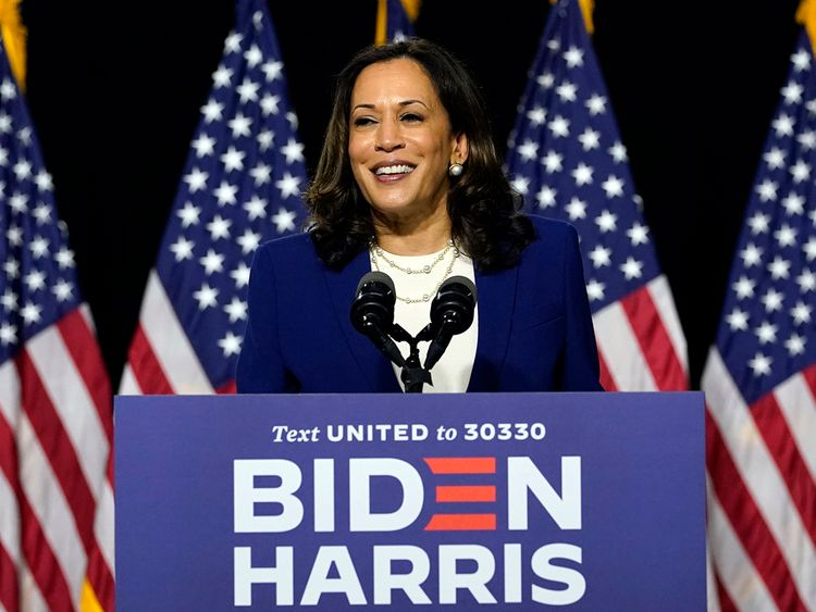 Kamala Harris says Americans are