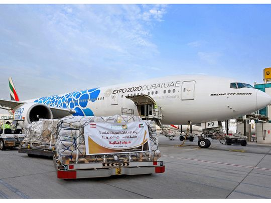 Emirates to deploy more than 50 cargo freighter flights to Lebanon