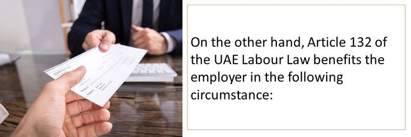 Fired for not being able to return to the UAE due to COVID-19