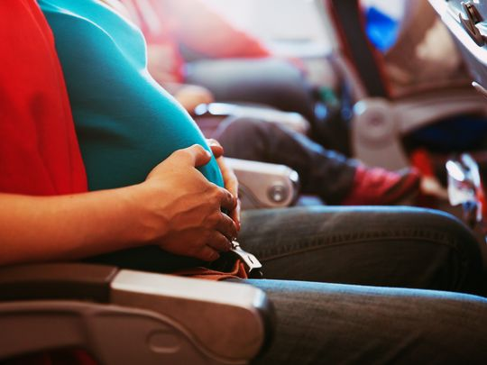 Flying when pregnant