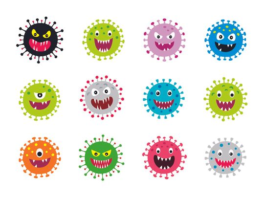 Kids and germs
