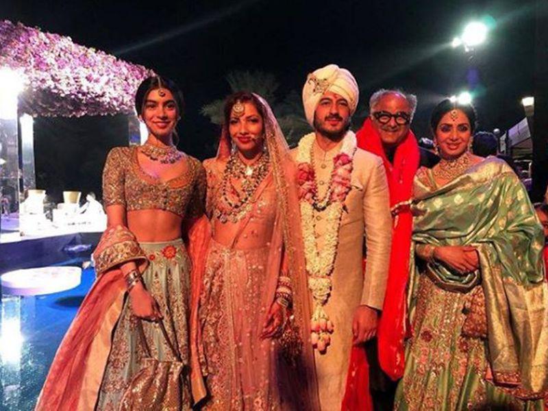 Sridevi Mohit wedding