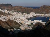 Stock Oman Muscat skyline