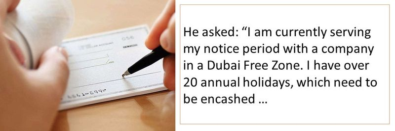 UAE Labour Law: Do I get paid for accrued annual leave?