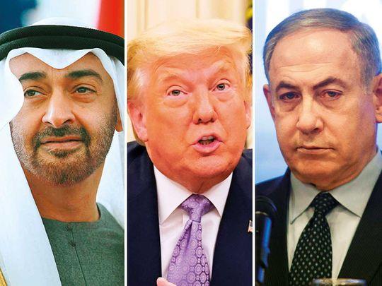 20200814 uae, us and israel