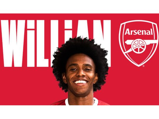 Arsenal announce Willian signing