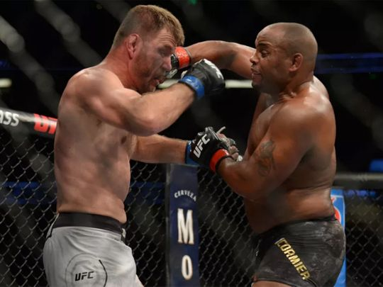 Cormier and Miocic have met twice before