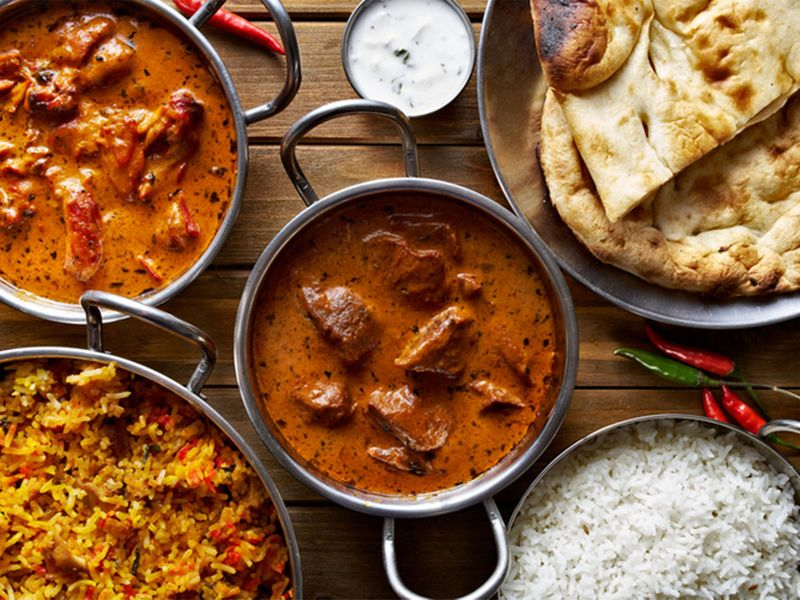 Indian and Pakistani food