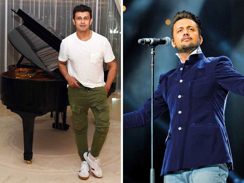 Sonu Nigam and Atif Aslam