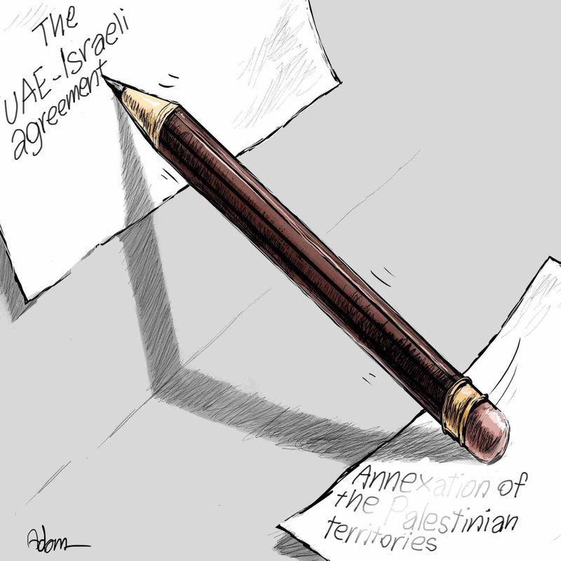 1 UAE Cartoon August 15