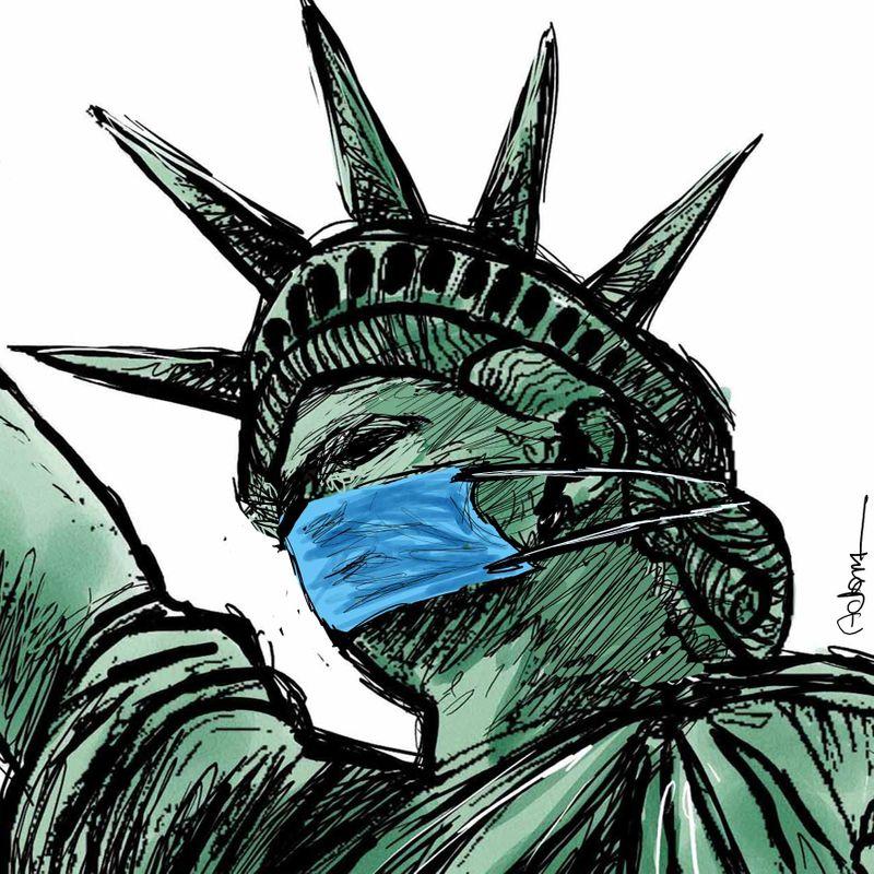 5 Liberty Cartoon August 15