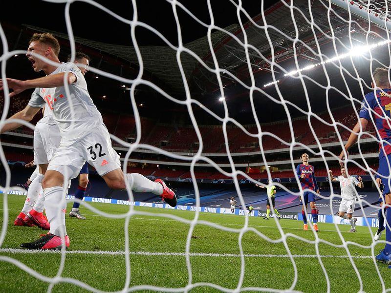 Barcelona v Bayern Munich - 8-2 Bayern Champions League quarter-final