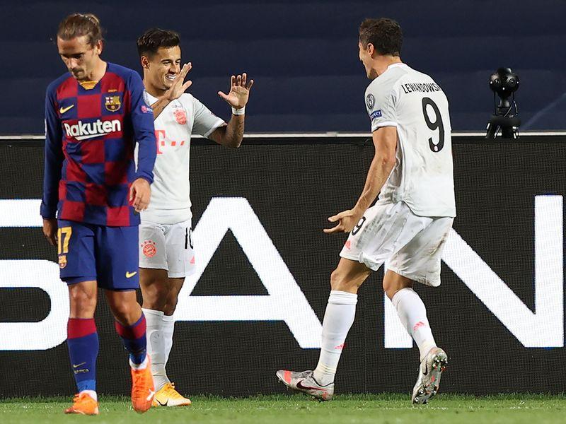 Barcelona v Bayern Munich - 8-2 Bayern in Champions League quarter-final