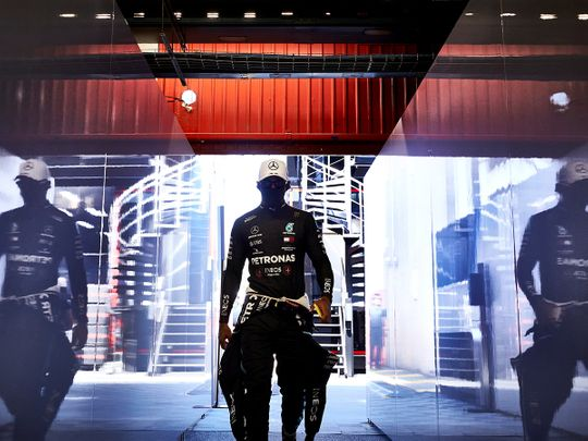 Lewis Hamilton marched to pole in the Spanish Grand Prix