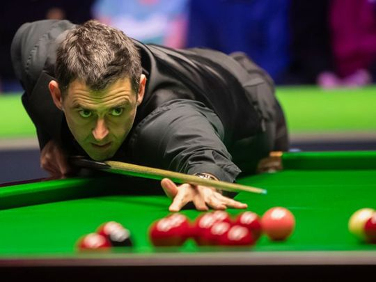 Ronnie O'Sullivan is in the World Championships final