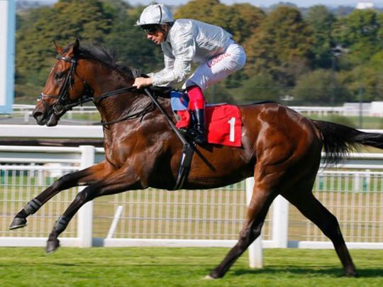 Frankie Dettori rides Palace Pier to victory in France