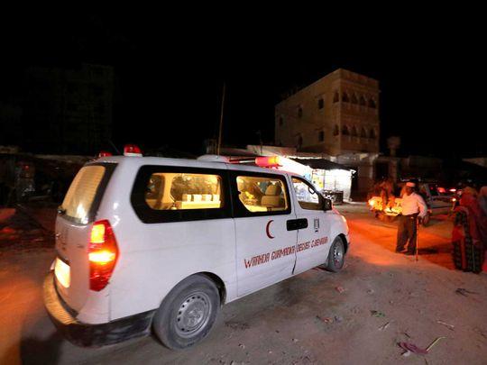 Mogadishu, Somalia blast