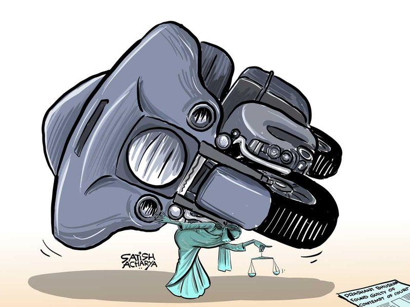 Satish Acharya Cartoon-August-16