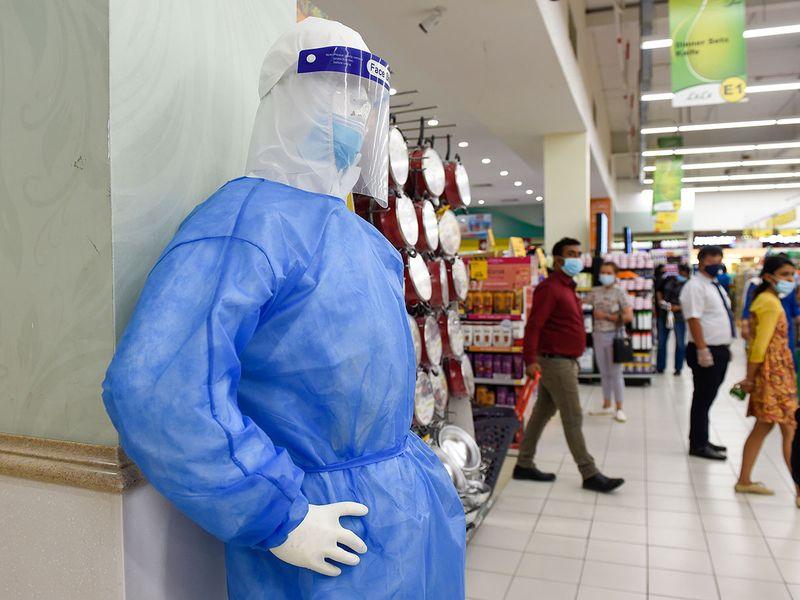 Dubai PPE kits