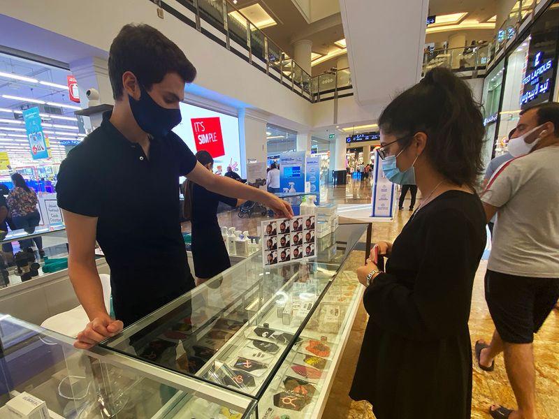 Dubai masks