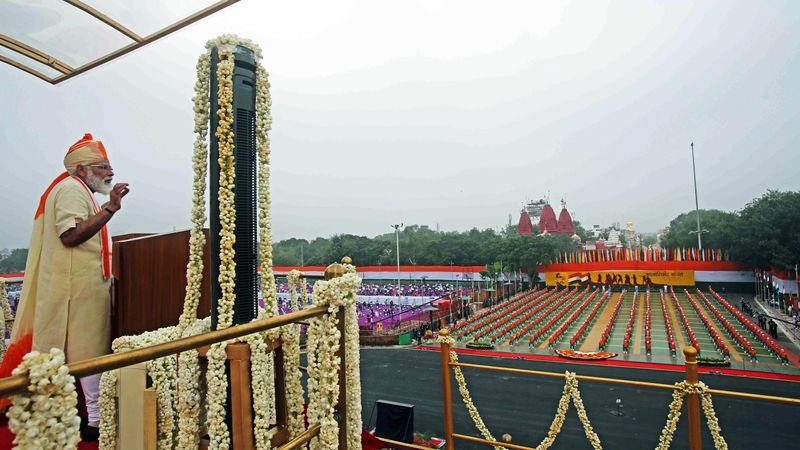 Modi August 15