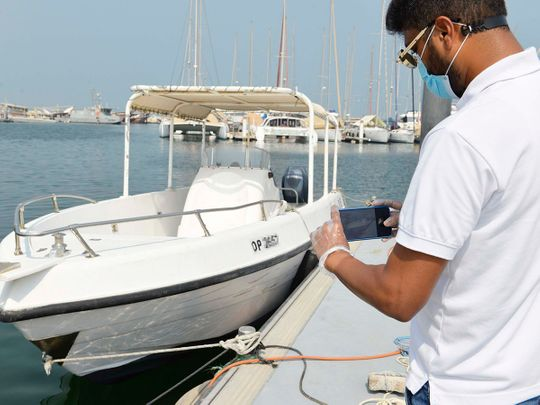 Self-inspection on small luxury yachts