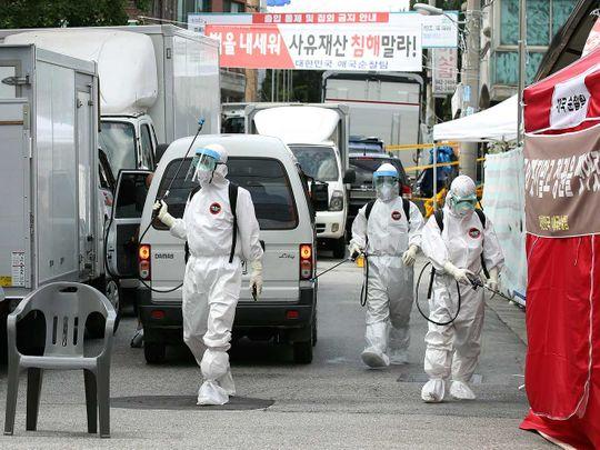 Seoul church covid outbreak Korea