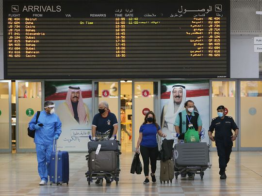 Stock Kuwait airport