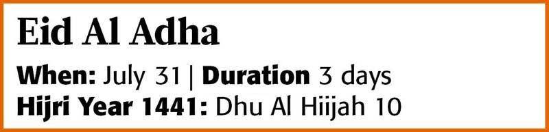 20200818 Eid Al Adha 2020