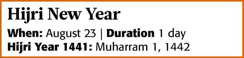 20200818 Hijri New Year 2020